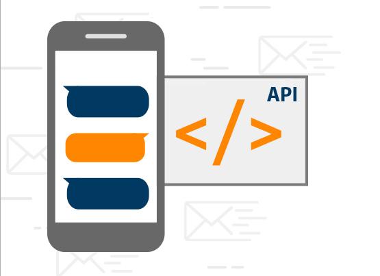 Con la nostra API la tua applicazione può inviare SMS